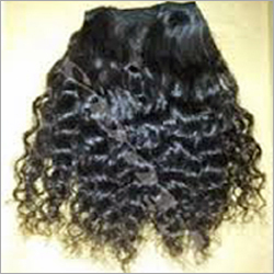 Processed Curly Human Hair