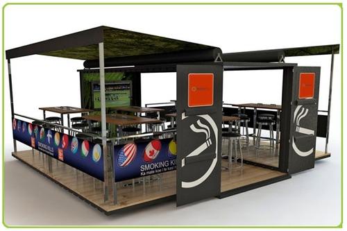 Portable Restaurant Cabins