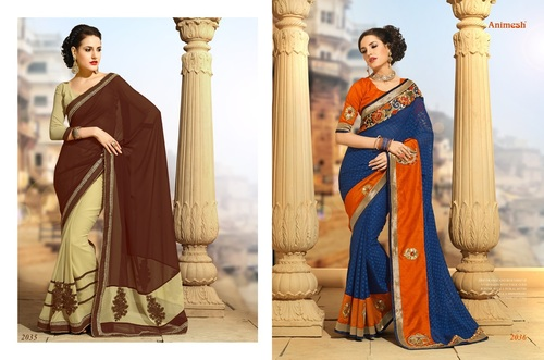 Embroidery Sarees