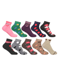 Extra Stretchable Terry Cushioned Footie Socks