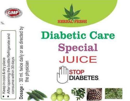 NEW HERBAL FRESH DIABETIC JUICE
