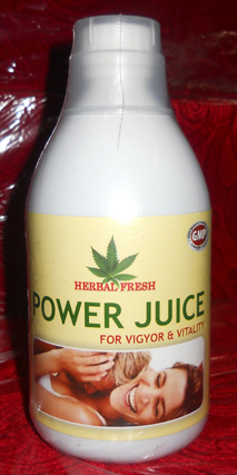 NEW HERBAL FRESH POWER JUICE