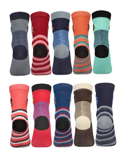 Extra Stretchable Cotton rich Lovable Kids Socks