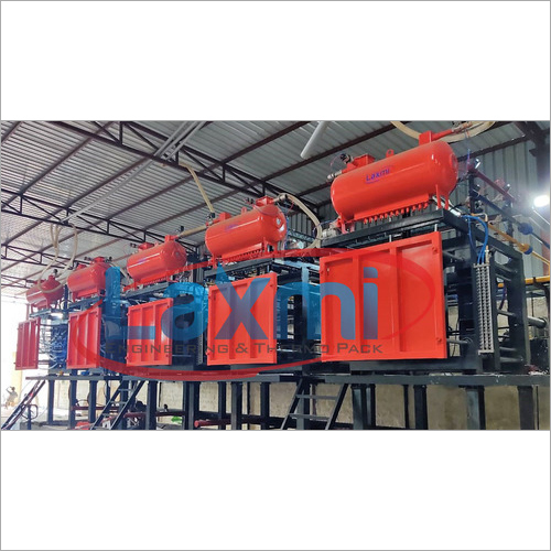 Automatic Thermocol Shape Moulding Machine