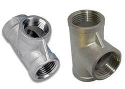 Alloy Steel Unequal Tee