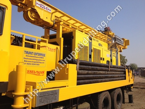 Hydraulically Operated Drilling Rigs