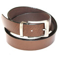 LINES FORMAL BLACK LEATHER BELT
