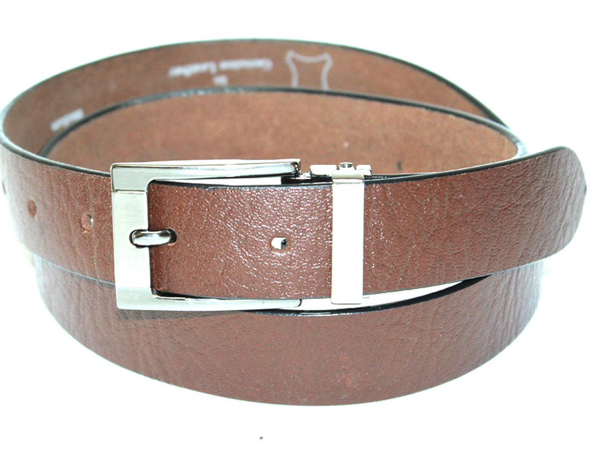 FORMAL BLACK MENS LEATHER BELT