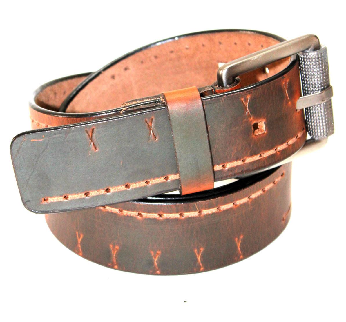 waxy oil leather wallet