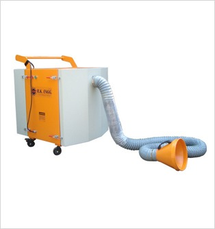 Portable Fume Extractor With Flexible Hose