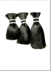 Human hair raw material