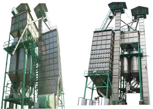 Paddy Dryer Parboiled Plant