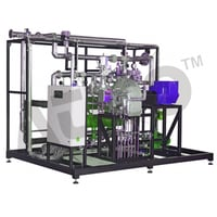 Steam Power Plant 20kW with Process Control System