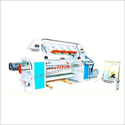 Hydraulic Log Peeling Machine
