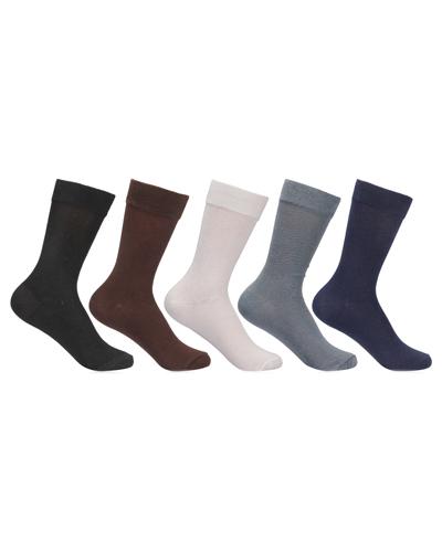 Calf Length Single Color Fine Cotton Socks
