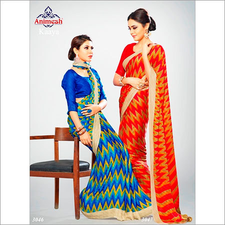 Exclusive Crepe Sarees