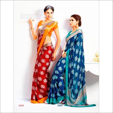 Single Color Sarees