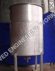 Dimple Jacketed Tank