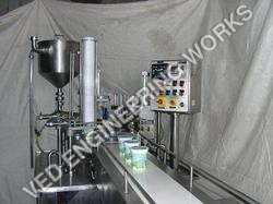 Ice Cream Cup Filling Machine
