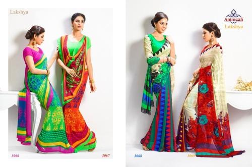 Colourful Fancy Sarees