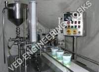 Curd Filling and Packing Machine