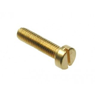 Brass Metric Slotted Cheese Head Machine Screws