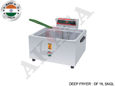 Akasa Indian Electric Commercial Deep Fryer