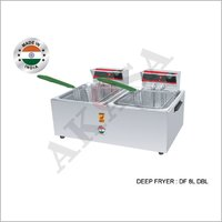 Akasa Electric Indian Double Basket Deep Fryer
