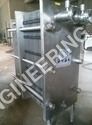 Sugar Syrup Cooler - Plate Heat Exchanger