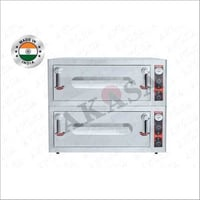 Double Deck Stone Oven