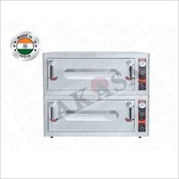 AKASA ELECTRIC INDIAN Double Deck Stone Oven