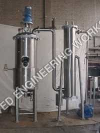 Vacuum Pan Evaporator and Condenser with Vacuum Pu
