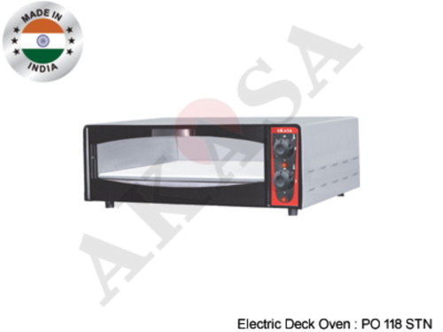 AKASA INDIAN ELECTRIC Commercial Stone Pizza Oven