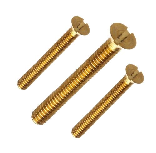 Brass Flat Long Screws