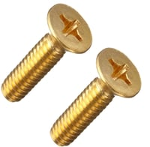 Brass Phillips Head Screws