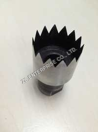 Plastic film 50mm serrated hole punch