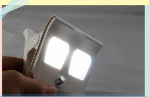 Solar clip light  LED light indoor light