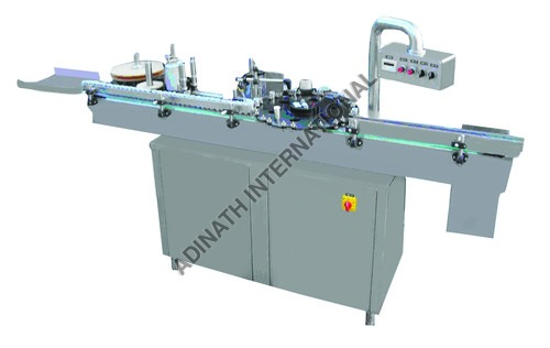 Automatic Vial Sticker Labeling Machine