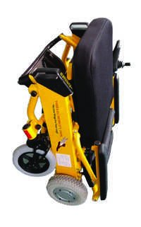 Light weight foldable wheelchair