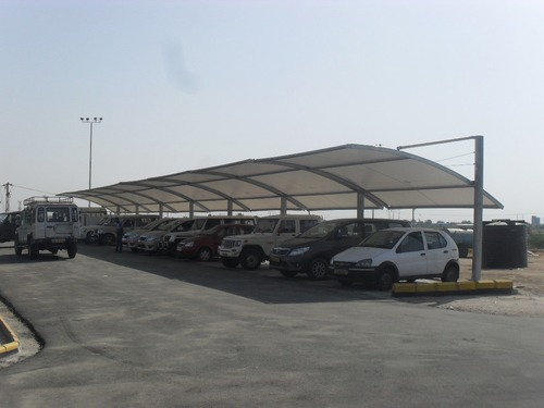Plain Car Parking Shade