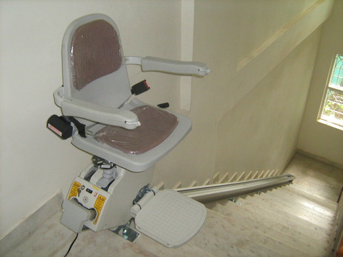 Powered stairlifts