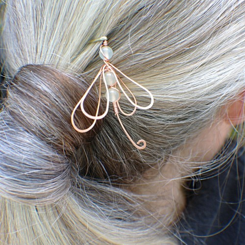 Hair pin wire