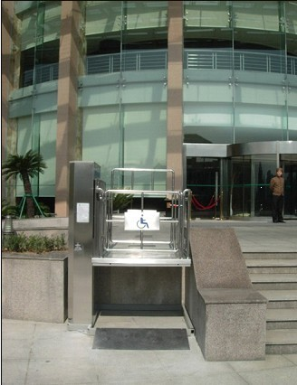 Stainless steel wheelchair lifts