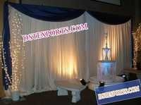 ASIAN WEDDING FOUNTAIN STAGE