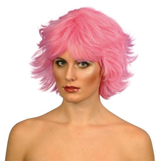 Pink wigs
