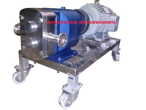 Steam Jacketed Lobe Pump