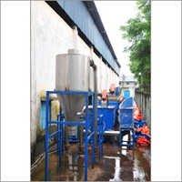 Washing Of Shredded Plastic Waste