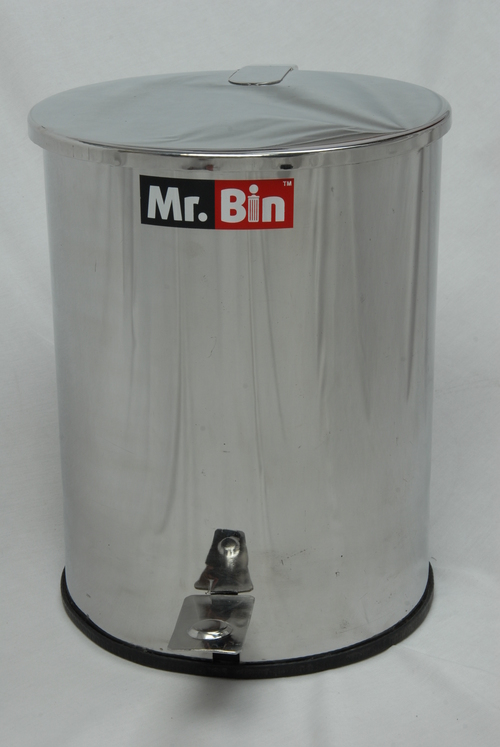 SS Foot operated dustbin