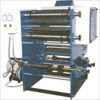 Slitting Machine With Single Color Printing