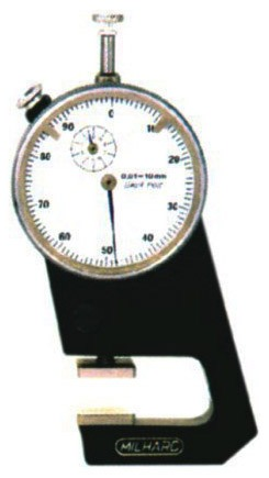 Dial Thickness Gauge for Gem Thickness